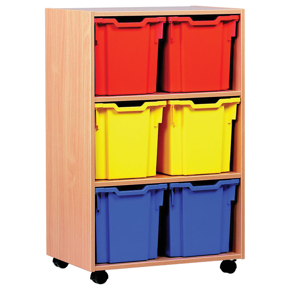 MEQ1011 - Storage unit with 6 jumbo trays Default title