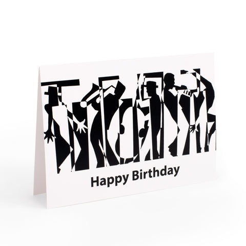 MGC-GC04 - Greetings card - Jazz happy birthday Default title