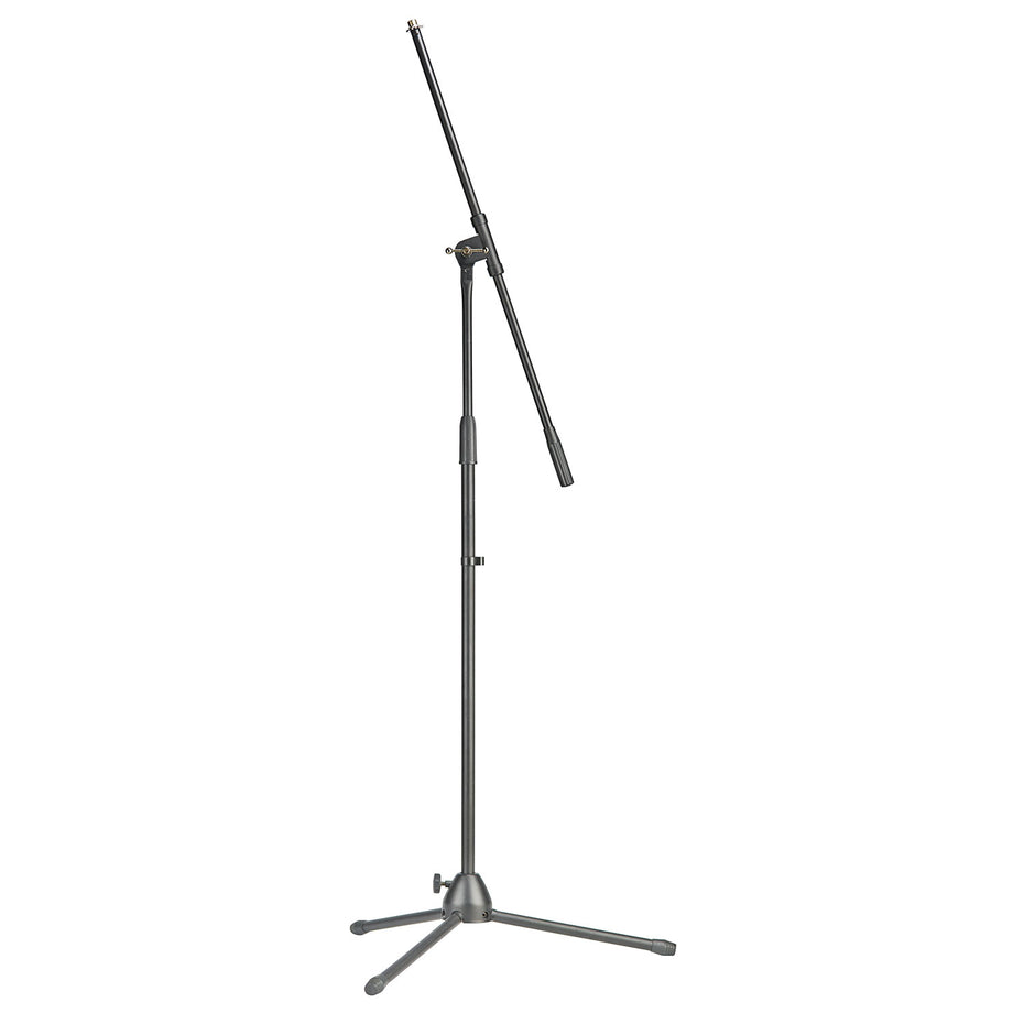 MIS-0822BK - Stagg microphone boom stand with folding legs Default title