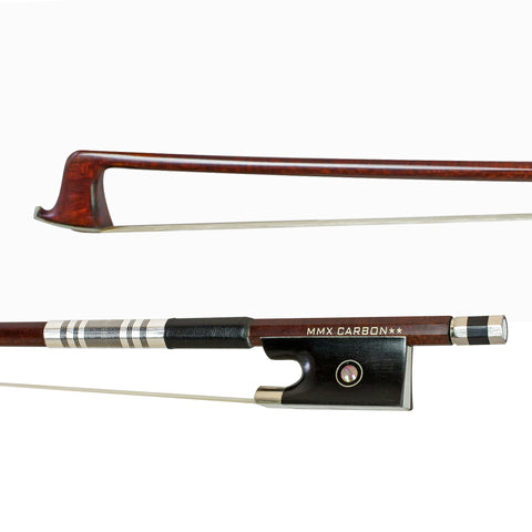 MMX85VN - MMX carbon composite ** 4/4 violin bow with wood veneer Default title