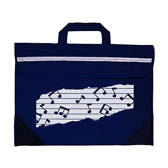 MP11310-NB - Duo music bag Navy blue