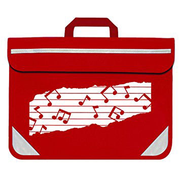 MP11310-RD - Duo music bag Red