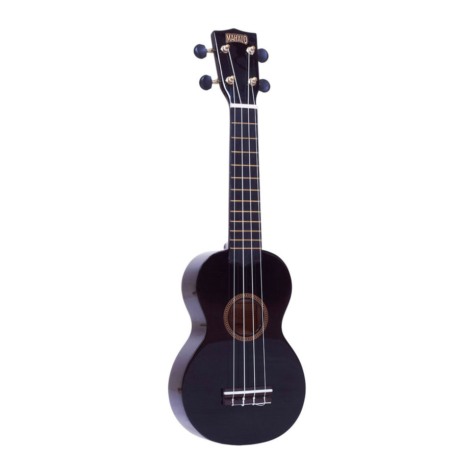 MR1-BK - Mahalo Rainbow soprano ukulele Black