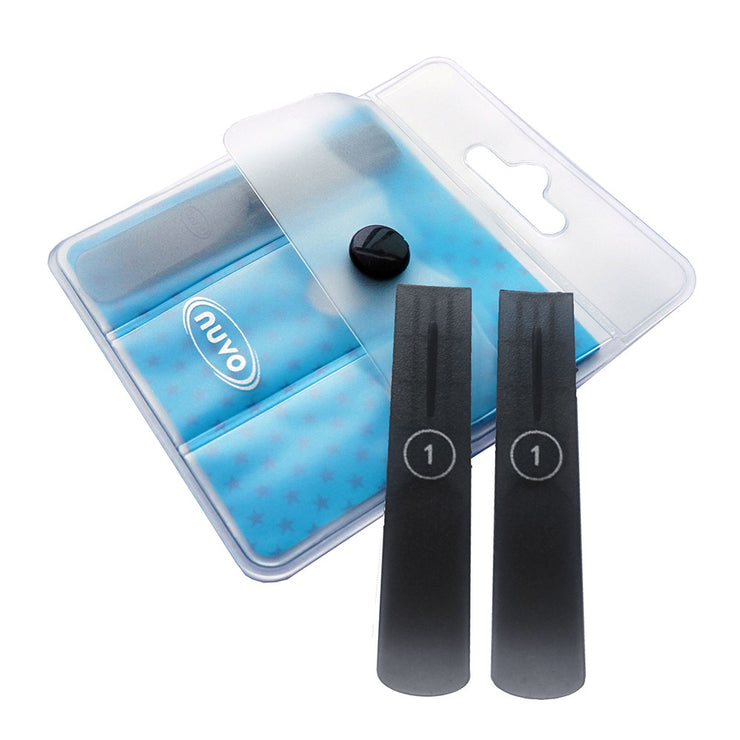 NCP1610-3 - Nuvo 3 pack plastic reeds for Clarineo, jSax, and DooD 1