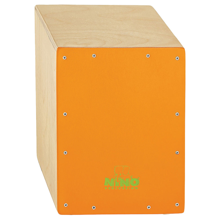 NINO-950OR - Nino 950 junior cajon with orange Birch front panel Default title
