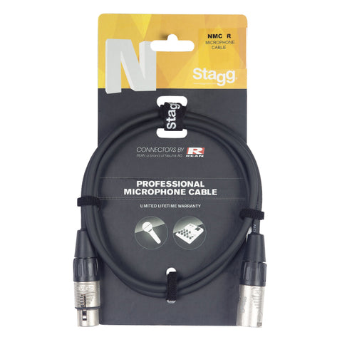 NMC20R,NMC10R,NMC6R,NMC3R - Stagg XLR (m/f) N-series Microphone Cable 66ft
