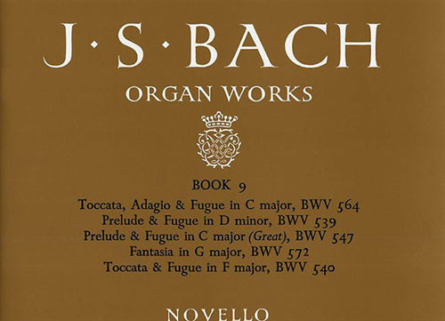 NOV010006 - J.S. Bach: Organ Works Book 9 Default title