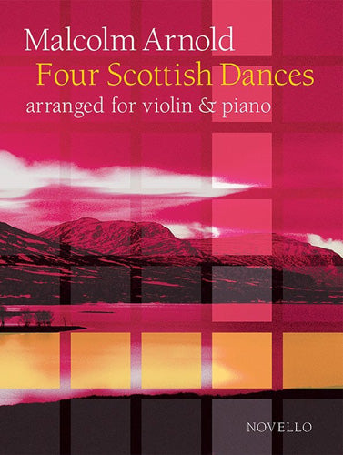 NOV090882 - Malcolm Arnold: Four Scottish Dances Op.59 (Violin/Piano) Default title