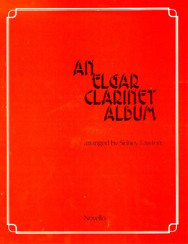 NOV120516R - An Elgar Clarinet Album Default title