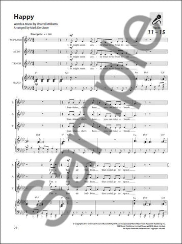 NOV164956 - Sing Out! 7 Pop Songs for Today's Choirs - Book 4 Default title