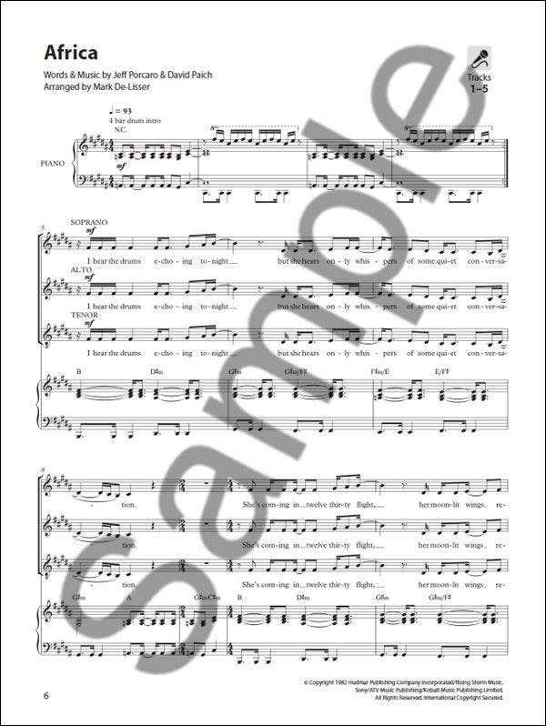 NOV165209 - Sing Out! 5 Pop Songs for Today's Choirs - Book 5 Default title