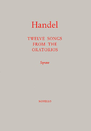 NOV170246 - G.F. Handel: Twelve Songs From The Oratorios Default title