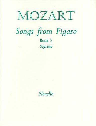 NOV170255 - Songs From Figaro Book 2 (Soprano) Default title