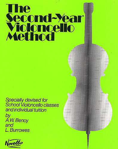 NOV915969 - The Second-Year Cello Method Default title