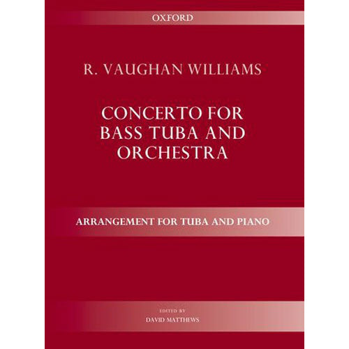 OUP-3386761 - Concerto for bass tuba and orchestra: Arrangement for tuba and piano Default title