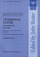 OUP-3417755 - Triumphal Scene (Grand March) from Aida: Vocal score on sale Default title