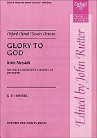 OUP-3418028 - Glory to God from Messiah: Vocal score Default title