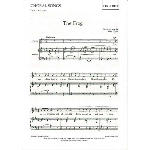 OUP-3419650 - The Frog: Vocal score Default title