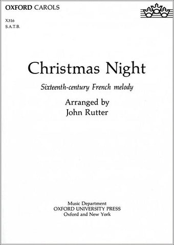 OUP-3431157 - Christmas Night: Vocal score Default title