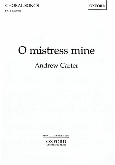 OUP-3432697 - O mistress mine: Vocal score Default title
