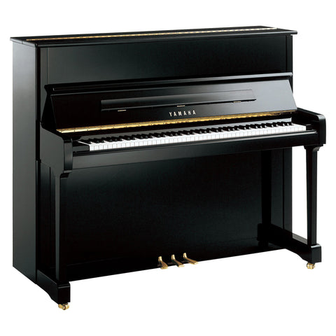 P121M - Yamaha P121 upright piano Polished Ebony