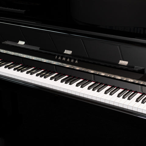 P121M,P121M-PEC,P121M-PWH,P121M-PWC - Yamaha P121 upright piano Polished Ebony