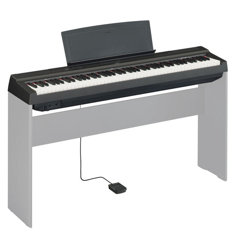 P125-B - Yamaha P125 portable digital piano Black