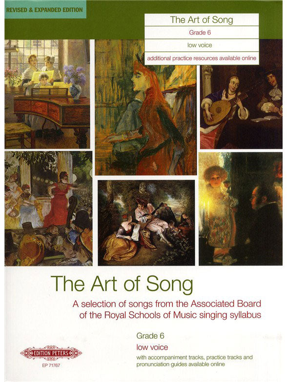 P71767 - ABRSM Art of Song: grade 6 low voice Default title