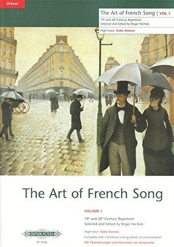 P7519A - Art of French Song, Vol.1 High Voice Default title