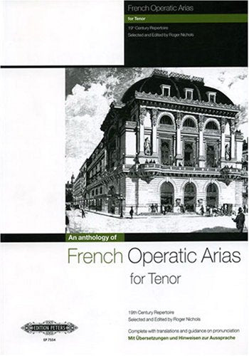 P7554 - French Operatic Arias for Tenor - 19th Century Repertoire Default title