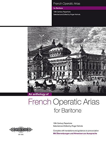 P7555 - French Operatic Arias for Baritone  - 19th Century Repertoire Default title