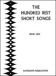 PAT00601 - The Hundred Best Short Songs Book One Default title