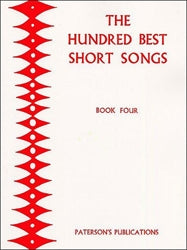 PAT00604 - The Hundred Best Short Songs - Book Four Default title