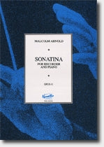 PAT60050 - Malcolm Arnold: Sonatina for Recorder and Piano Op.41 Default title