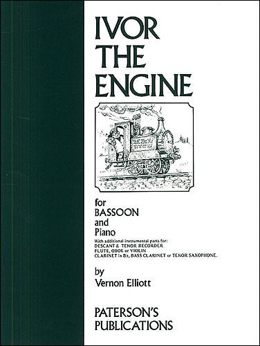 PAT60603 - Vernon Elliott: Ivor The Engine For Bassoon And Piano Default title