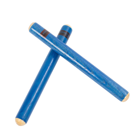 PP203 - Percussion Plus claves pair Blue