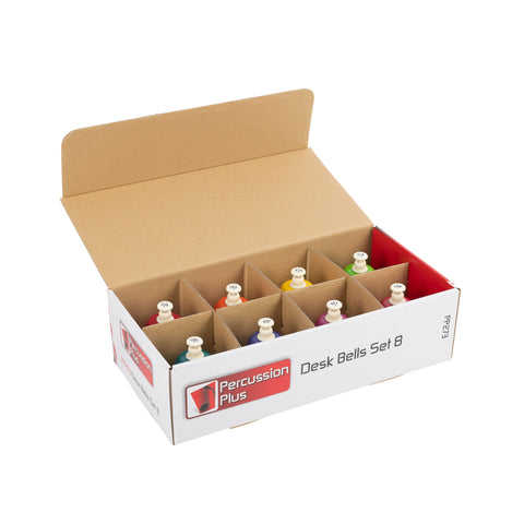 PP273 - Percussion Plus PP273 set of 8 colour desk bells Default title