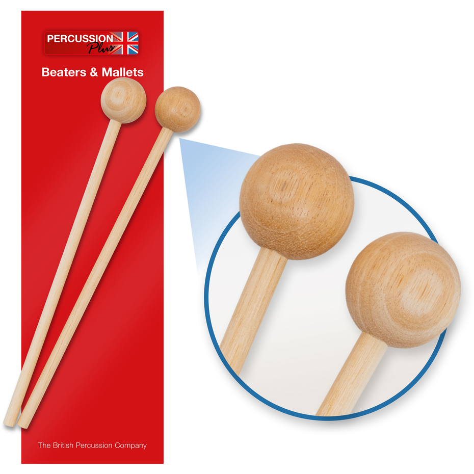 PP385 - Percussion Plus PP385 wooden beaters - pair Default title