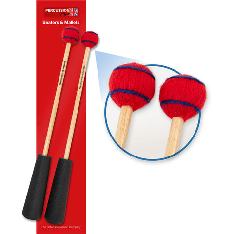 PP758 - Percussion Plus PP758 Easy Grip medium wound mallets Default title