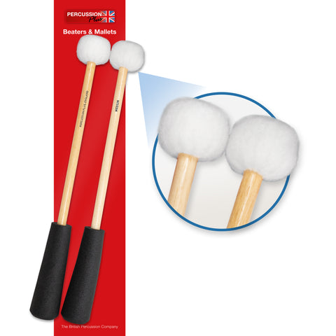 PP759 - Percussion Plus PP759 Easy Grip medium to soft timpani mallets Default title