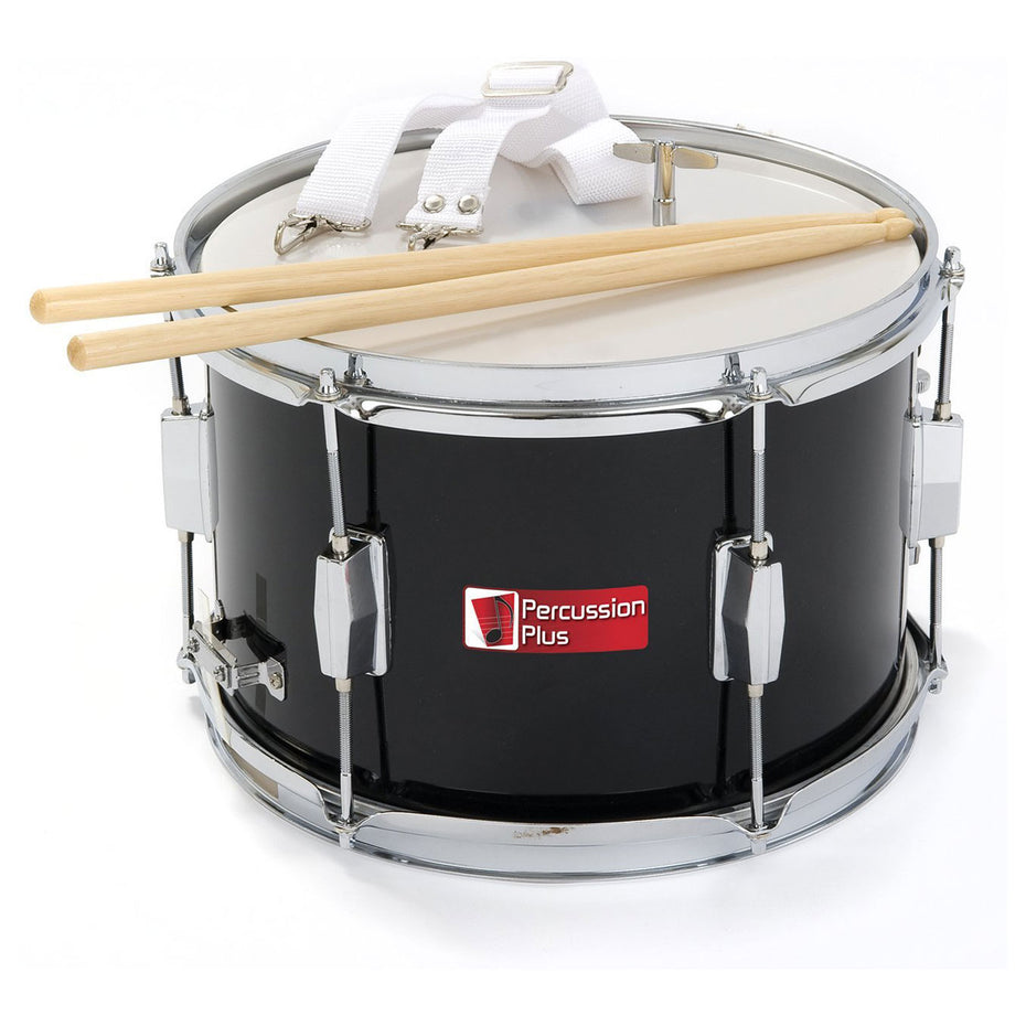 PP786-BK - Percussion Plus junior marching drum Black