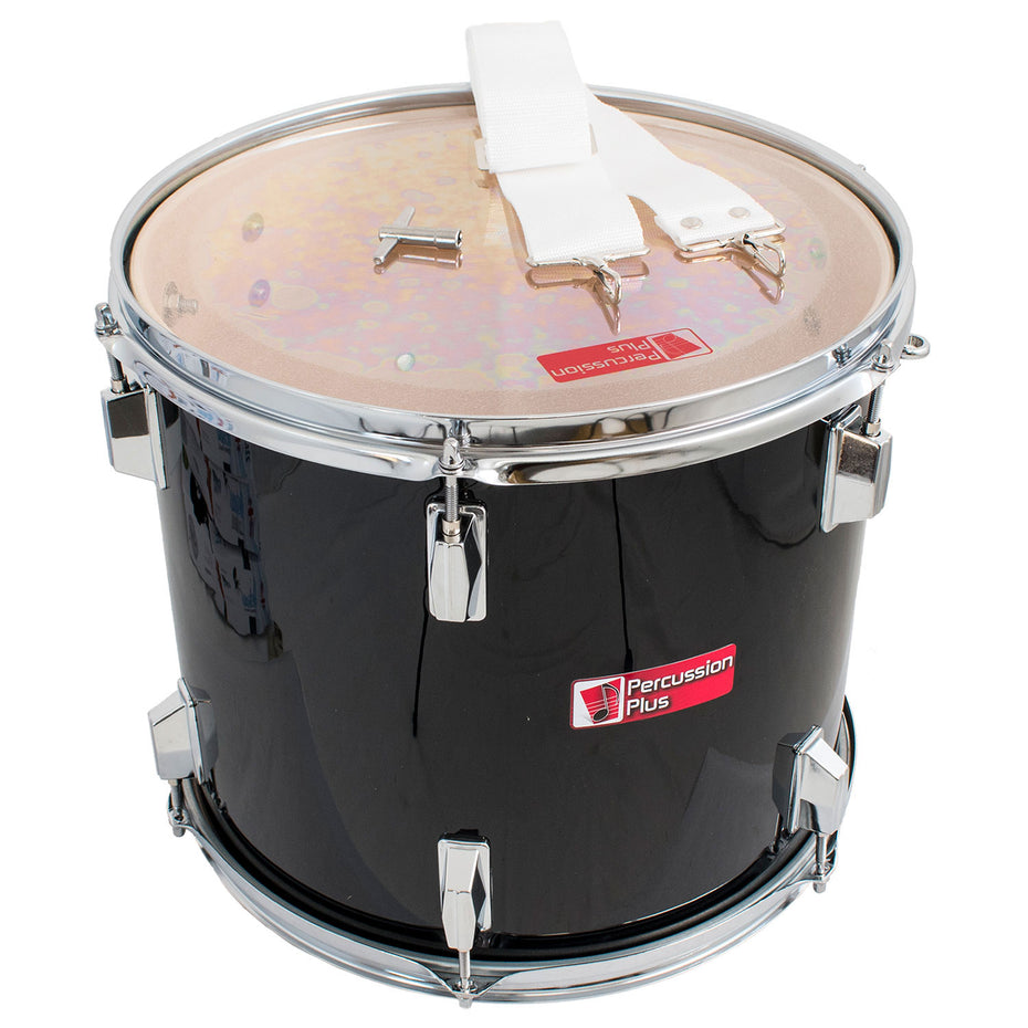 PP787-BK - Percussion Plus junior tenor marching drum 14