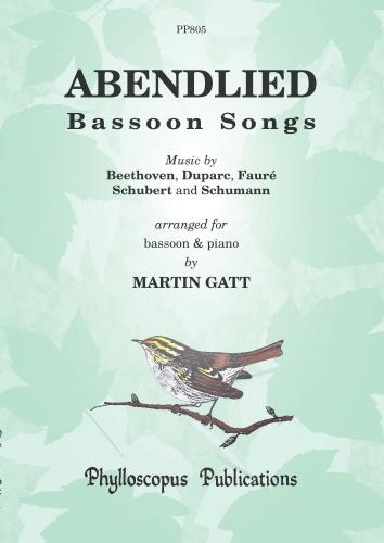 PPP805 - Abendlied Bassoon Songs Default title