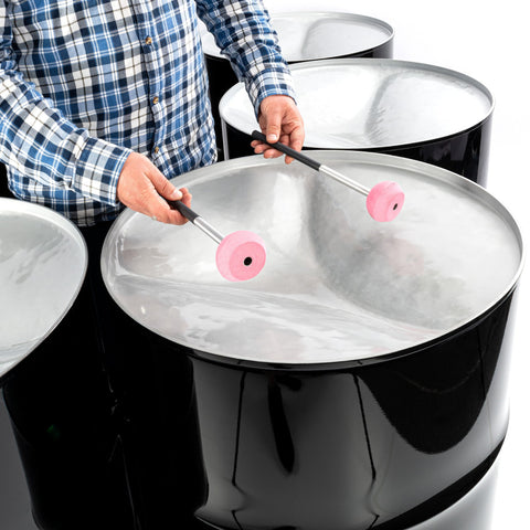 PP9125 - Percussion Plus Import Series six bass steel pans - painted finish Default title