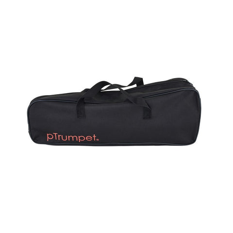 PTRUMPET-BK,PTRUMPET-BL,PTRUMPET-RD,PTRUMPET-P,PTRUMPET-GR,PTRUMPET-WH,PTRUMPET-YL - pTrumpet plastic B♭ trumpet outfit Black