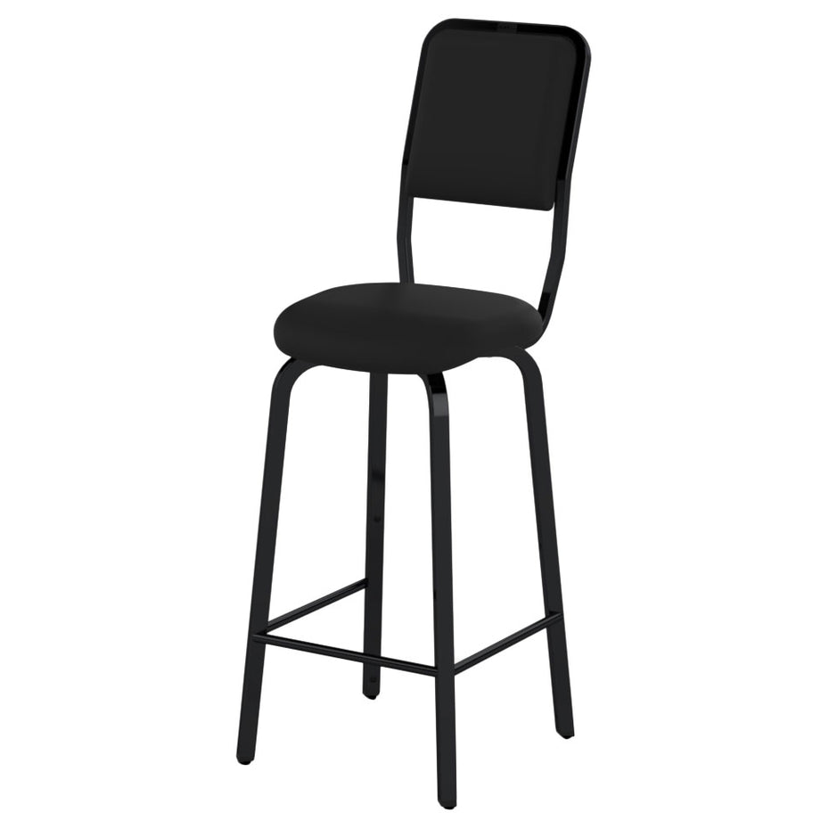 RAT-302Q11B - RAT double bass stool with fixed legs and back Default title