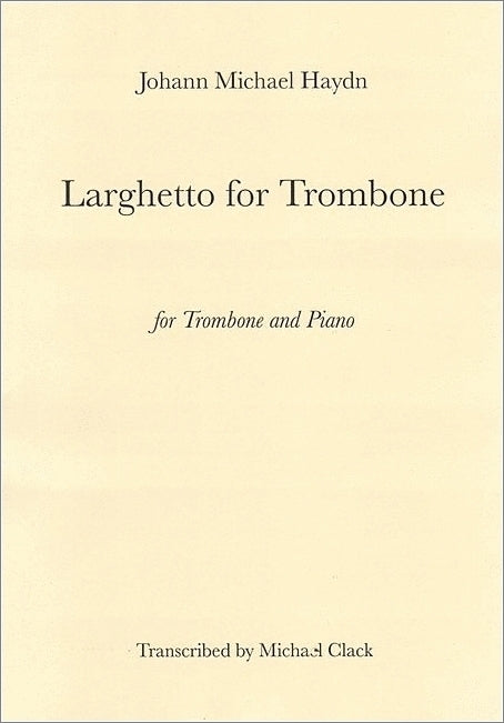 Haydn Larghetto for Trombone