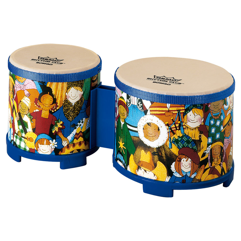RH560000 - Remo Rhythm Club bongos with 5