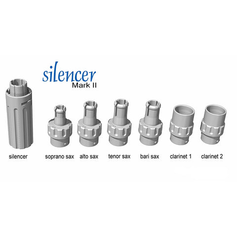 SAXSILENCER - Jazzlab mouthpiece silencer for woodwind instruments Default title
