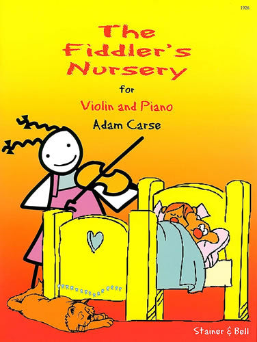 SB-1926 - Fiddler's Nursery: Violin part and Piano part Default title